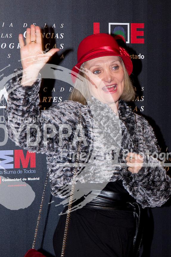 28/01/2012. Real Casa de Correos. Madrid. Spain. Goya Awards Nominated Gala 2012. Elena Fernan-Gomez