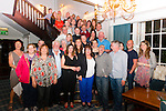 Kathleen Cronin from Killarney celebrated her 60th birthday surrounded by friends and family in the Avenue Hotel, Killarney last Friday night.