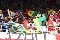 Fans aus dem Senegal feiern - 19.06.2018: Polen vs. Senegal, Gruppe H, Spartak Stadium Moskau