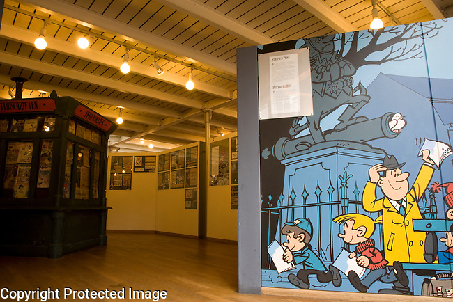 Centre Belge de la Bande Dessinee - Belgian Comic Strip Centre, Brussels, Belgium, Europe