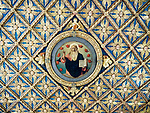 Ceiling detail, Academy Gallery, Venice, Italy
