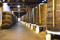 wooden vats ferreira port lodge vila nova de gaia porto portugal