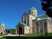 Bagrati-Kathedrale und Glockenturm in Kutaisi, Imeretien - Imereti;, Georgien, Europa<br /> Bagrati cathedral and bell tower, Kutaisi,  Inereti,  Georgia, Europe