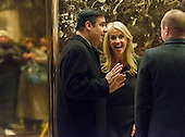 United States Representative Raúl Labrador (Republican of Idaho) is seen waiting for an elevator in the lobby of Trump Tower in New York, NY, USA upon his arrival for a meeting with US President-elect Donald Trump on December 12, 2016. <br /> Credit: Albin Lohr-Jones / Pool via CNP