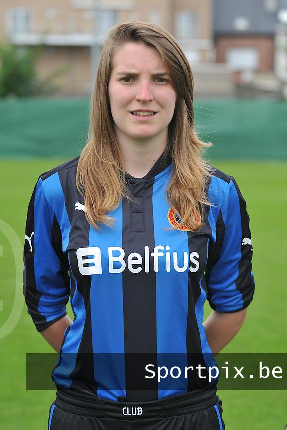 Club Brugge Dames : Stefanie Ninclaus.foto DAVID CATRY / Vrouwenteam.be