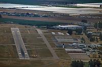 aerial photograph of Santa Maria Public Airport (SMX),  Santa Maria, Santa Barbara County, California