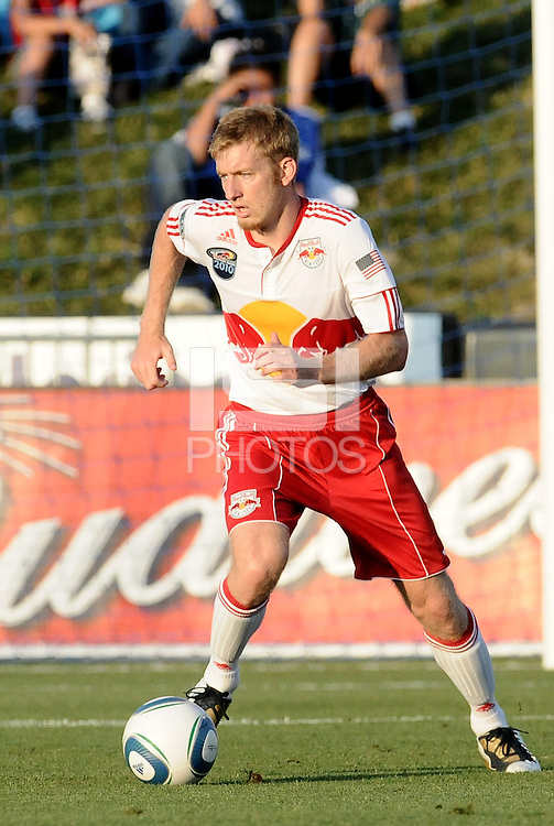 Tim Ream...Kansas City Wizards were defeated 3-0 by New York Red Bulls at Community America Ballpark, Kansas City, Kansas.