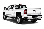Car pictures of rear three quarter view of a 2019 GMC Sierra 2500 Denali 4 Door Pick Up angular rear