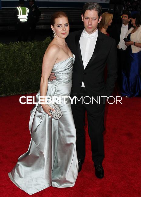 """NEW YORK CITY, NY, USA - MAY 05: Amy Adams, Darren Gallo at the """"Charles James: Beyond Fashion"""" Costume Institute Gala held at the Metropolitan Museum of Art on May 5, 2014 in New York City, New York, United States. (Photo by Xavier Collin/Celebrity Monitor)"""
