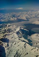 Aerial, Alaska, US