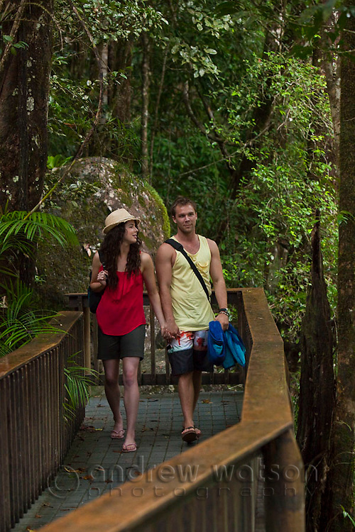 Neighbours - Mossman Gorge & Port Douglas, 21 Oct, 2011.