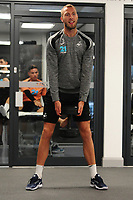 Mike van der Hoorn of Swansea City in the gym during the Swansea City Training at The Fairwood Training Ground, Swansea, Wales, UK. Wednesday 07 November 2018