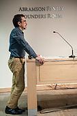 Washington DC, USA. Chico Vive conference, 4th April 2014. Moderator, journalist Andrew Revkin.