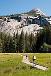 Bicycling, Yosemite Valley, Yosemite National Park, California, USA.  Photo copyright Lee Foster.  Photo # california121199