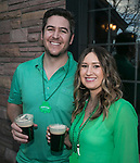JD and Angela on St. Patrick's Day in Reno on Friday, March 17, 2017.