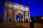 Italy, Rome, November 2, 2011..General view of Settimio arc in Rome November2 , 2011. VIEWpress / Eduardo Munoz Alvarez..Rome is the capital of Italy and the country's largest and most populated city and comune, with over 2.7 million residents in 1,285.3 km2 (496.3 sq mi). The city is located in the central-western portion of the Italian Peninsula, on the Tiber River within the Lazio region of Italy.