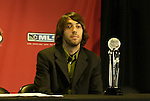 12 November 2004: New England Revolution's Clint Dempsey was named 2004 MLS Gatorade Rookie of the Year. Major League Soccer held their annual pre-MLS Cup press conference at the Home Depot Center in Carson, CA two days before the Kansas City Wizards were scheduled to play DC United in the league's annual championship game..