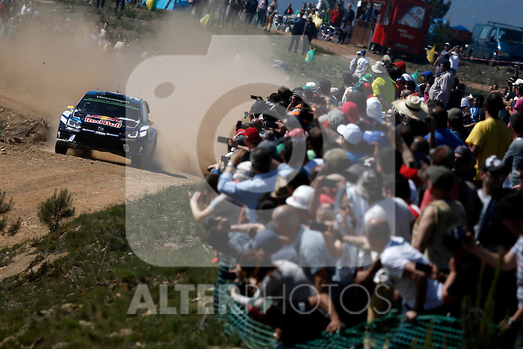 Andreas Mikkelsen  ( NOR )  / Jaeger Synnevag ( NOR )  - Volkswagen Polo WRC