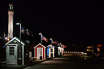 Provincetown Warf & Tower on a Summer night.