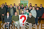 FARMBIZ: Some of the farmers from Mid-Kerry at the Farmbiz meeting in Killorglin on Thursday night last with  Emmet Spring and Cllr Johnny O'Connor of the South Kerry Development Partnership.   Copyright Kerry's Eye 2008