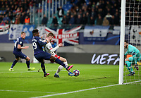 10th March 2020, Red Bull Arena, Leipzig, Germany; EUFA Champions League, RB Leipzig v Tottenham Hotspur; Timo Werner scores for RB Leipzig but the goal was offside