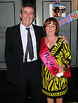 Ann Healy celebrating her 50th birthday in the black Bull with her husband Ian. Photo: www.colinbellphotos.com