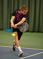 March 13, 2015, Netherlands, Rotterdam, TC Victoria, NOJK, Mattheo Knoop (NED)<br /> Photo: Tennisimages/Henk Koster