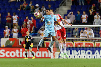 Harrison, NJ - Thursday Sept. 15, 2016: Justin Bilyeu during a CONCACAF Champions League match between the New York Red Bulls and Alianza FC at Red Bull Arena.