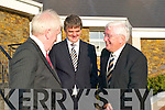 TD Jimmy Deenihan and John O'Donovan, principal of St Joseph's Secondary School Ballybunion sharing a joke with Minister for Education and Science Batt O'Keeffe at the PLC student's awards ceremony at the Tintean Theatre Ballybunion on Friday evening.   Copyright Kerry's Eye 2008