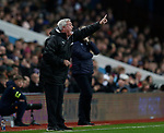Steve Bruce manager of Newcastle United reacts on the touchline during the Premier League match at Villa Park, Birmingham. Picture date: 25th November 2019. Picture credit should read: Darren Staples/Sportimage
