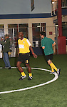 Jimmy Jean-Louis - Heroes & Gilles Marini at the Celebrity soccer game to benefit Hollywood United for Haiti at 1st Setanta Cup Soccer Festival on April 11, 2009 at Chelsea Pers, NYC. (Photo  by Sue Cofln/Max Photos)