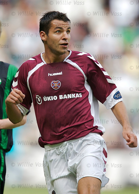 Michal Pospisil, Hearts.stock season 2006-2007.pic willie vass