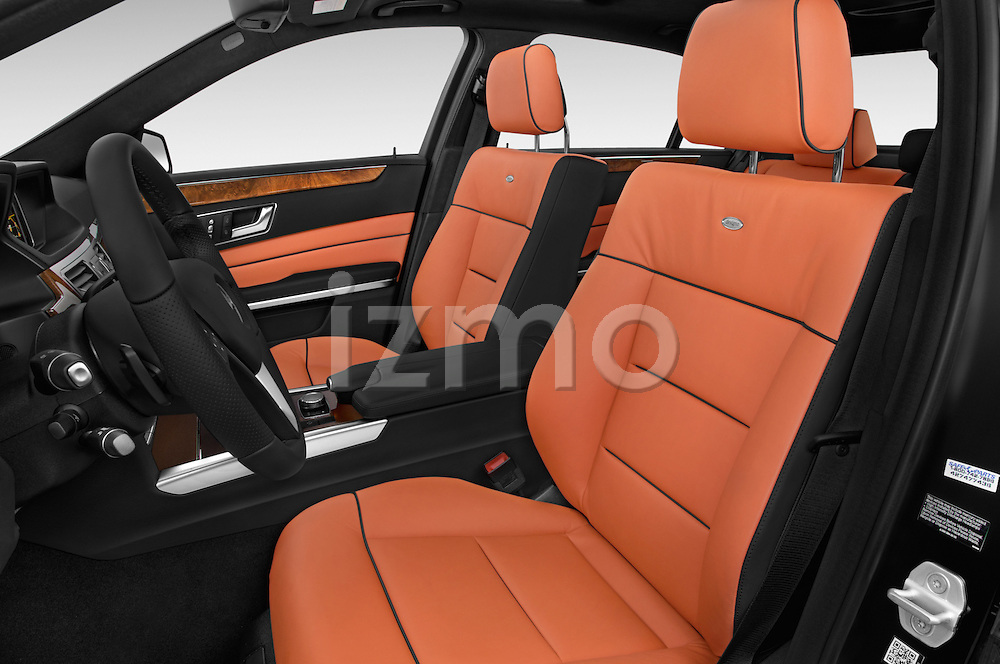 Front seat view of a 2015 Mercedes Benz E Class Elegance 4 Door Sedan front seat car photos