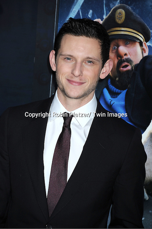 "actor Jamie Bell attends The US Premiere of "" The Adventures of TinTin""..on December 11, 2011 at The Ziegfeld Theatre in New York City."
