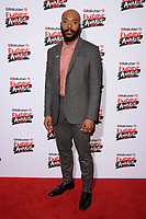 Arinze Kene<br /> arriving for the Empire Awards 2018 at the Roundhouse, Camden, London<br /> <br /> ©Ash Knotek  D3389  18/03/2018