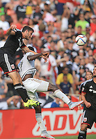 Washington, DC - Sunday, July, 26 2015: DC United defeated the Philadelphia Union 3-2 in an MLS match at RFK Stadium.