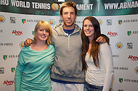 11-02-13, Tennis, Rotterdam, ABNAMROWTT, Meet and Greet with Igor Sijsling   Press confence