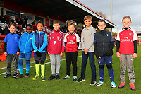 Young fans during Stevenage vs Notts County, Sky Bet EFL League 2 Football at the Lamex Stadium on 11th November 2017