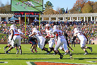 Oct. 22, 2011 - Charlottesville, Virginia - USA; The North Carolina State Wolfpack during an NCAA football game against the Virginia Cavaliers at the Scott Stadium. NC State defeated Virginia 28-14. (Credit Image: © Andrew Shurtleff