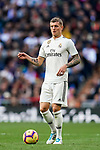 Toni Kroos of Real Madrid in action during the La Liga 2018-19 match between Real Madrid and Real Valladolid at Estadio Santiago Bernabeu on November 03 2018 in Madrid, Spain. Photo by Diego Souto / Power Sport Images