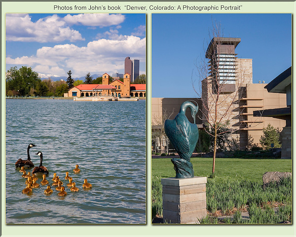 Canada geese at City Park and art at The Wildlife Experience, Denver, Colorado. .  John leads private, wildlife photo tours throughout Colorado. Year-round. .  John offers private photo tours in Denver, Boulder and throughout Colorado. Year-round.