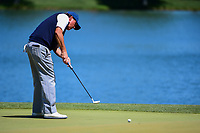 Phil Mickelson (USA) putts on 2 during round 2 of the Shell Houston Open, Golf Club of Houston, Houston, Texas, USA. 3/31/2017.<br /> Picture: Golffile | Ken Murray<br /> <br /> <br /> All photo usage must carry mandatory copyright credit (&copy; Golffile | Ken Murray)