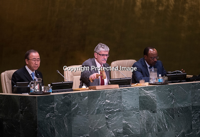 General Assembly 70th session:  45th plenary meeting<br /> 1. Strengthening of the United Nations system: draft resolution (A/70/L.6) [item 122]<br /> 2. Implementation of the resolutions of the United Nations [item 119] Revitalization of the work of the General Assembly [item 120] Joint debate