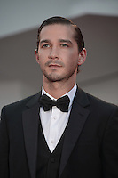 VENICE, ITALY - SEPTEMBER 06:  Shia LaBeouf at the 'The Company You Keep' Premiere during the 69th Venice Film Festival at the Palazzo del Casino on September 6, 2012 in Venice, Italy. &copy;&nbsp;Maria Laura Antonelli/AGF/MediaPunch Inc. ***NO ITALY*** /NortePhoto.com<br />