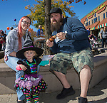 Kandace, Thomas and 1-year-old Kylee Armas during Pumpkin Palooza in Sparks, Nevada on Sunday, Oct. 22, 2017.