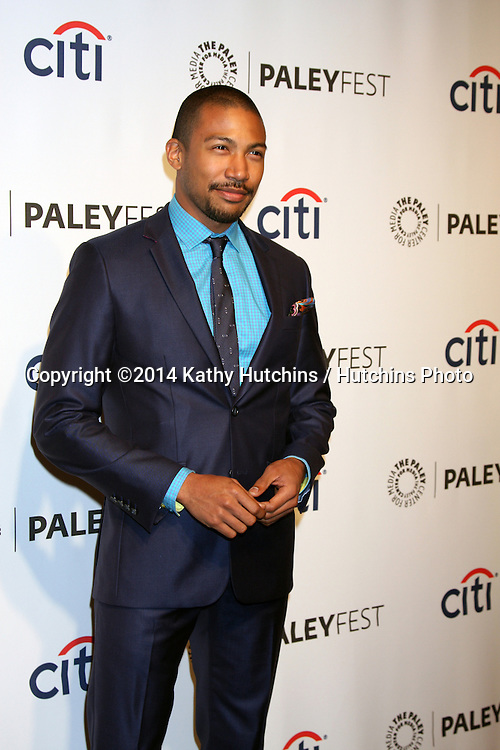 "LOS ANGELES - MAR 22:  Charles Michael Davis at the PaleyFEST 2014 - ""The Vampire Diaries"" & ""The Originals"" at Dolby Theater on March 22, 2014 in Los Angeles, CA"