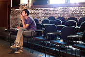 June 25, 2012. Raleigh, NC.. Alex Tobey directs scenes during the Awkward Elephant Project rehearsal..  Burning Coal Theatre Company will host Politheatrics 2012, a festival of devised work centering on the loose theme of politics from across the southeastern United States and beyond.