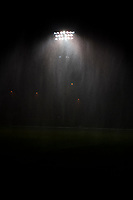 Kansas City, MO - Saturday July 22, 2017: FC Rain delay during a regular season National Women's Soccer League (NWSL) match between FC Kansas City and the North Carolina Courage at Children's Mercy Victory Field.