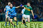 David Moran Kerry in action against Michael Fitzsimons Dublin during the Allianz Football League Division 1 Round 3 match between Kerry and Dublin at Austin Stack Park in Tralee, Kerry on Saturday night.