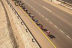 Baptiste Planckaert (BEL) Team Katusha-Alpecin and Nicolas Roche (IRL) BMC Racing Team lead the peleton during Stage 3 of the 2018 Tour of Oman running 179.5km from German University of Technology to Wadi Dayqah Dam. 15th February 2018.<br /> Picture: ASO/Muscat Municipality/Kare Dehlie Thorstad | Cyclefile<br /> <br /> <br /> All photos usage must carry mandatory copyright credit (&copy; Cyclefile | ASO/Muscat Municipality/Kare Dehlie Thorstad)